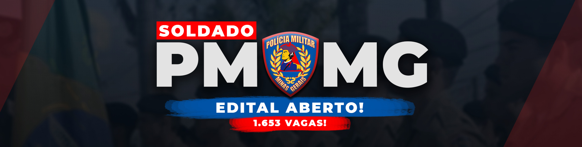 Concurso PMMG aberto