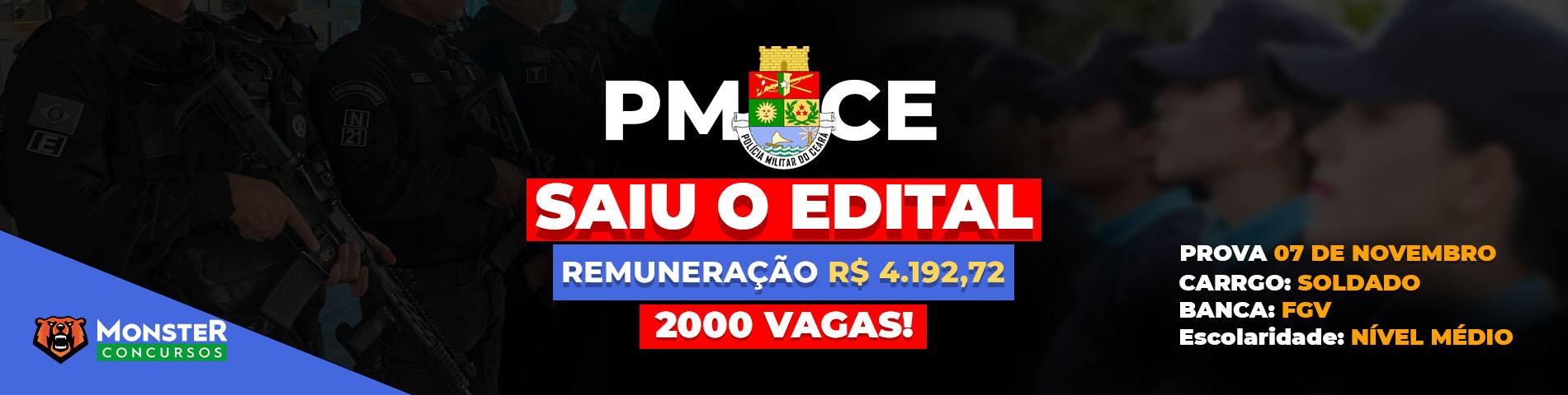 Concurso PMCE
